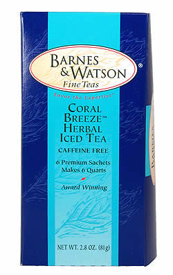 Coral Breeze� Herbal Iced Tea (6 One-Quart Teabags)