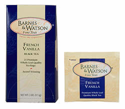 French Vanilla (25 Foil-Wrapped Teabags)