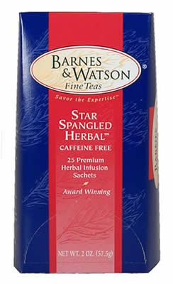 Star Spangled Herbal (25 Pillow Teabags)